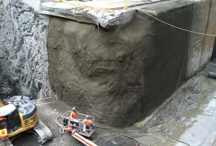цементный раствор для торкретирования