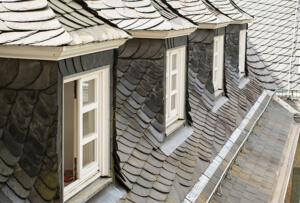 сланцевая крыша