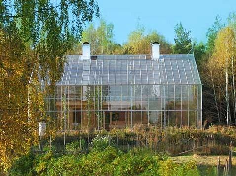 Натурхаус - дом под стеклом