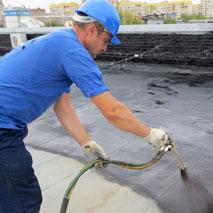 Гидроизоляция крыши жидкой резиной