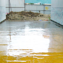 Гидроизоляция пола из бетона